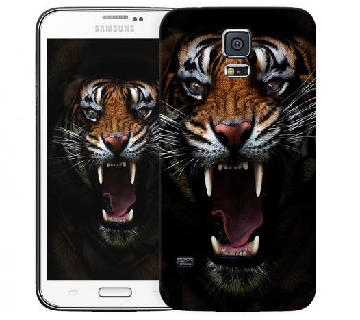 Чехол «Супер тигр» для Samsung Galaxy S5