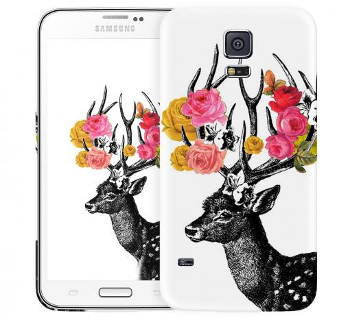 Чехол «Олень Весна» для Samsung Galaxy S5