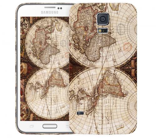 Чехол «Карта» для Samsung Galaxy S5