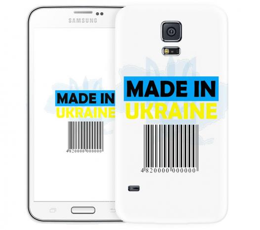 Чехол «Made in Ukraine» для Samsung Galaxy S5