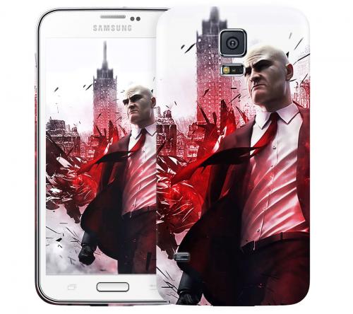 Чехол «Hitman» для Samsung Galaxy S5