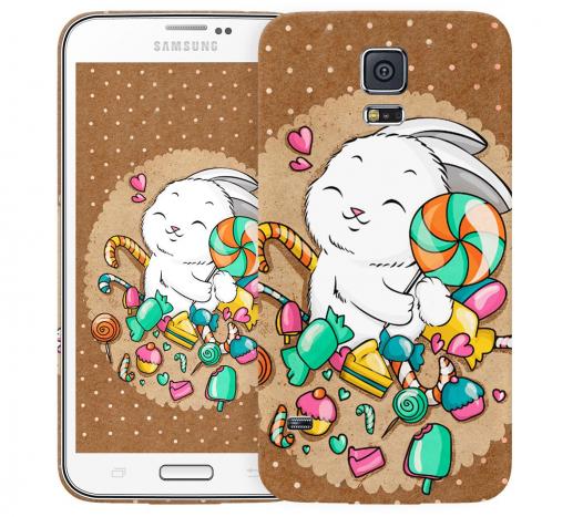 Чехол «Зайка» для Samsung Galaxy S5