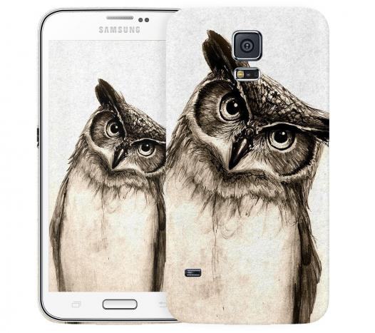 Чехол «Сова» для Samsung Galaxy S5