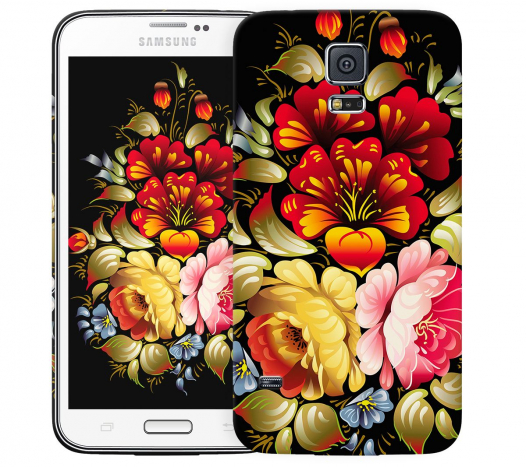Чехол «Хохлома» для Samsung Galaxy S5