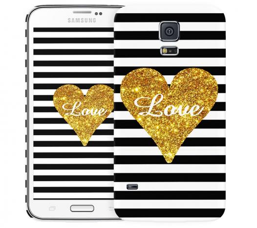 Чехол «Love» для Samsung Galaxy S5