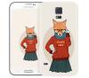 Чехол «Nerdy girl» для Samsung Galaxy S5