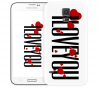 Чехол «I Love You» для Samsung Galaxy S5
