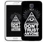 Чехол «Don't trust anyone» для Samsung Galaxy S5