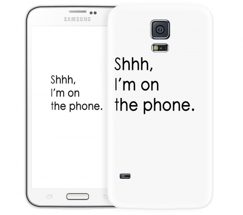 Чехол «Shhh...» для Samsung Galaxy S5