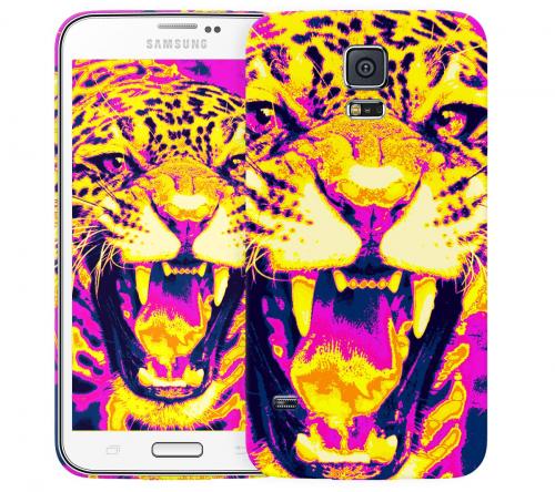 Чехол «Леопард» для Samsung Galaxy S5