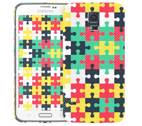Чехол «Пазл» для Samsung Galaxy S5