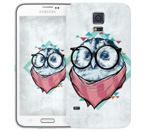 Чехол «Мудрая Сова» для Samsung Galaxy S5