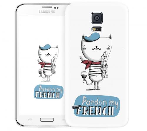 Чехол «French» для Samsung Galaxy S5