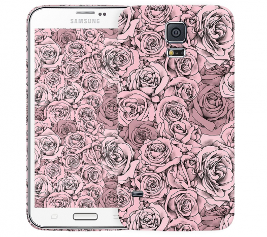 Чехол «Paper Rose» для Samsung Galaxy S5
