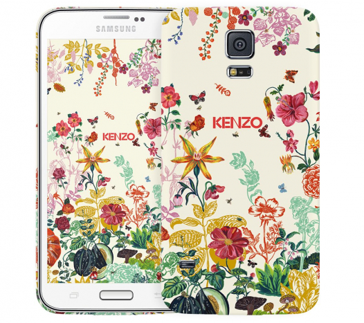 Чехол «Kenzo Flowers» для Samsung Galaxy S5