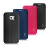 Кожаный чехол (книжка) IMAK Fun Series для Samsung Galaxy S6 G920F/G920D Duos