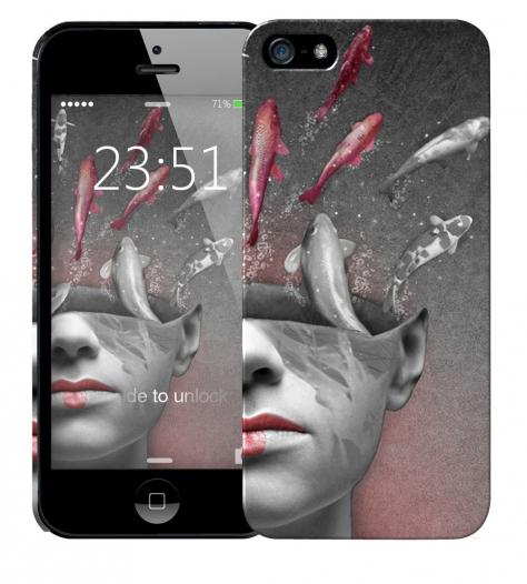Чехол «iface» для Apple iPhone 5/5s