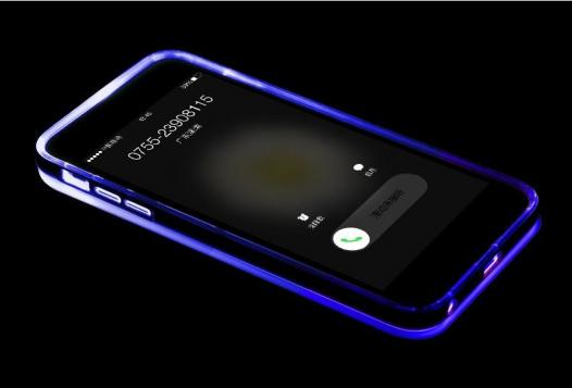 Светящийся TPU чехол ROCK Tube Series для Apple iPhone 6/6s plus (5.5
