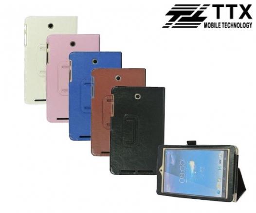 Кожаный чехол-книжка TTX с функцией подставки для Asus MeMO Pad HD 8 ME180A