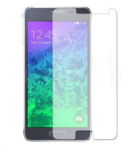 Защитное стекло Ultra Tempered Glass 0.33mm (H+) для Samsung G850F Galaxy Alpha (карт. уп-вка)