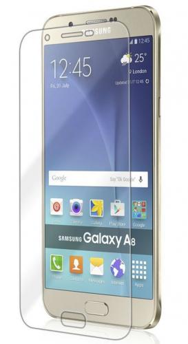 Защитное стекло Ultra Tempered Glass 0.33mm (H+) для Samsung Galaxy A8 (карт. упак)