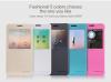 Кожаный чехол (книжка) Nillkin Sparkle Series для Samsung G850F Galaxy Alpha