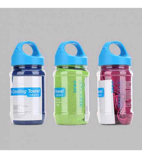 Полотенце Rock (Sports Cooling Towel in a bottle)