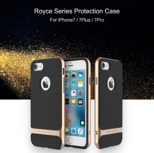 TPU+PC чехол Rock Royce Series для Apple iPhone 7 (4.7