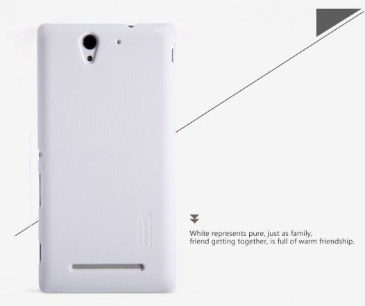 Чехол Nillkin Matte для Sony Xperia C3 (+ пленка)