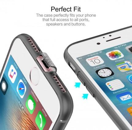 TPU чехол ROCK Slim Jacket для Apple iPhone 7 plus (5.5