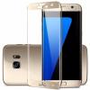Защитное 3D стекло на весь экран (цветное) для Samsung G935F Galaxy S7 Edge с закругленными краями