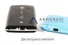 Заглушка из силикона для порта microUSB универсальная (2 штуки)