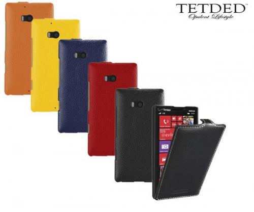 Кожаный чехол (флип) TETDED для Microsoft Lumia 930