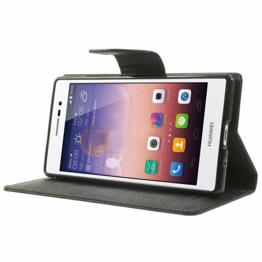 Чехол (книжка) Mercury Fancy Diary series для Huawei Ascend P7