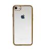"""Прозрачный силиконовый чехол для Apple iPhone 7 (4.7"""") с глянцевой окантовкой"""