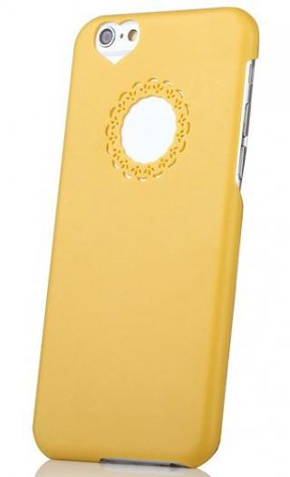 Пластиковая накладка Flower Round Cutout для Apple iPhone 6/6s (4.7