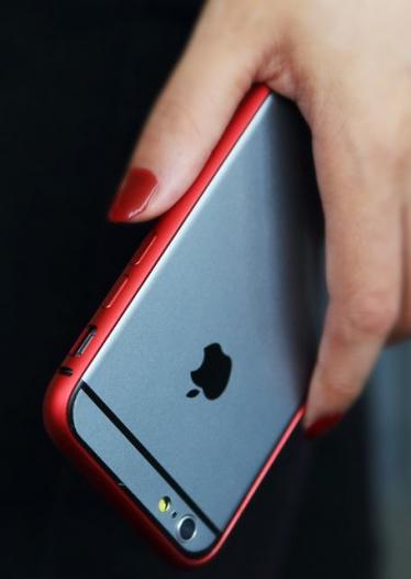 Металлический бампер Rock Arc Slim Guard для Apple iPhone 6/6s (4.7