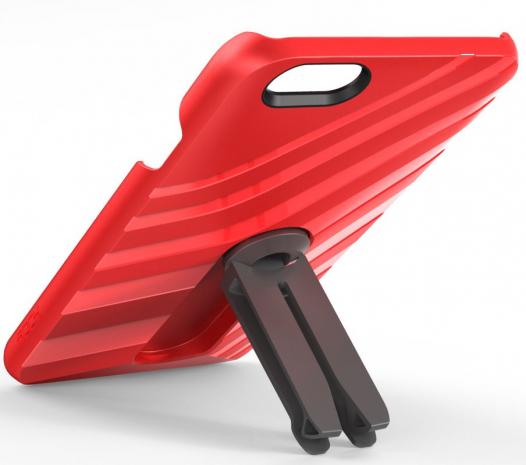 Пластиковая накладка Rock Car Mount (функц. подставки + автодержатель) для Apple iPhone 6/6s (4.7