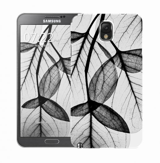 Чехол «Листики» для Samsung Galaxy Note 3 N9000/N9002
