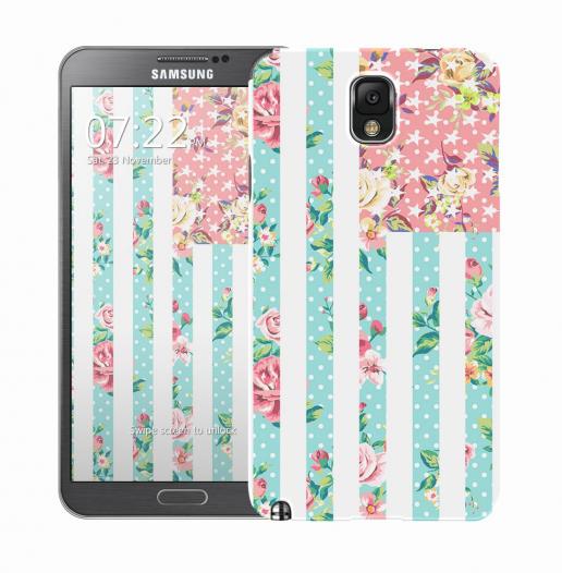 Чехол «Цветы Америка» для Samsung Galaxy Note 3 N9000/N9002