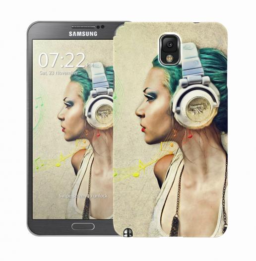 Чехол «Music» для Samsung Galaxy Note 3 N9000/N9002