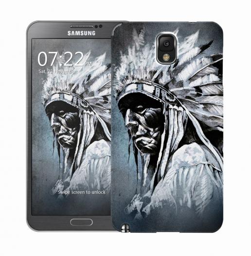 Чехол «Индеец» для Samsung Galaxy Note 3 N9000/N9002
