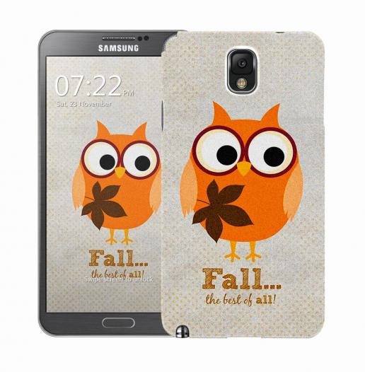 Чехол «Fall owl» для Samsung Galaxy Note 3 N9000/N9002