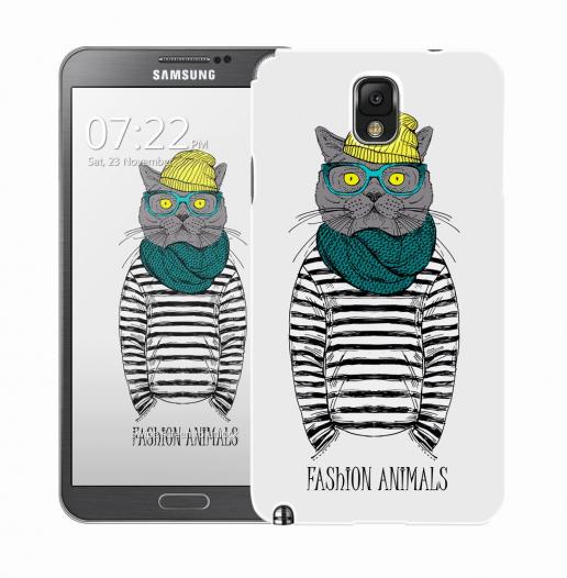 Чехол «Fashion Cat» для Samsung Galaxy Note 3 N9000/N9002