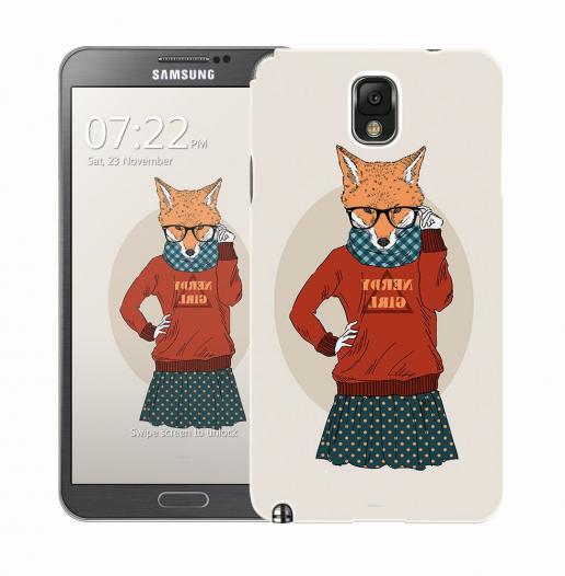 Чехол «Nerdy girl» для Samsung Galaxy Note 3 N9000/N9002