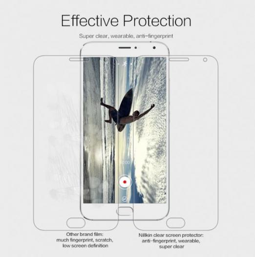 Защитная пленка Nillkin Crystal для Meizu MX5