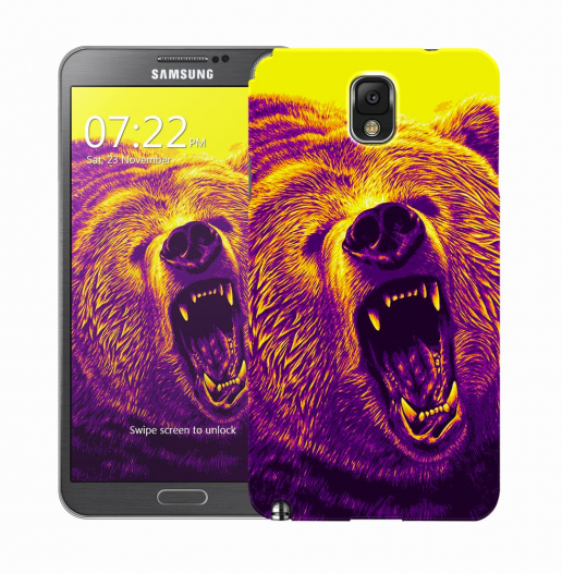 Чехол «Гризли» для Samsung Galaxy Note 3 N9000/N9002