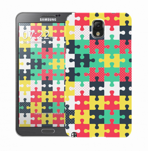 Чехол «Пазл» для Samsung Galaxy Note 3 N9000/N9002