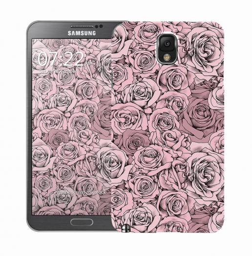 Чехол «Paper Rose» для Samsung Galaxy Note 3 N9000/N9002