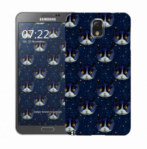 Чехол «Midnight Cat» для Samsung Galaxy Note 3 N9000/N9002